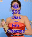 292 Dias para Em  Chamas - Personalised Poster large