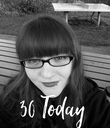 30 Today  - Personalised Poster large