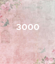 3000    - Personalised Poster large