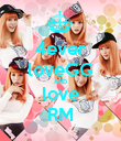 4ever loveGG AND love RM - Personalised Poster large