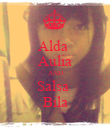 Alda  Aulia AND Salsa  Bila - Personalised Poster large