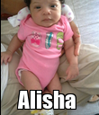 Alisha  - Personalised Poster large