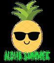 ALOHA SUMMER - Personalised Poster large