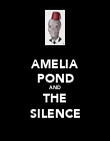 AMELIA POND AND THE SILENCE - Personalised Poster large