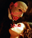 Angel Of   Music  - Personalised Poster large