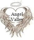 Angel Valley    - Personalised Poster large