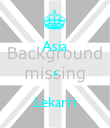 Asia  &  Lekarri - Personalised Large Wall Decal
