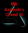 Assassin's Creed III    - Personalised Poster large