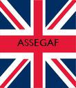 ASSEGAF    - Personalised Poster large
