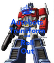 Autobots Transform and Roll Out - Personalised Poster large