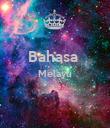 Bahasa  Melayu   - Personalised Poster large
