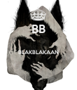 BB  BLAKBLAKAAN   - Personalised Large Wall Decal