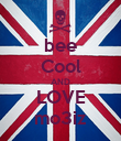 bee Cool AND LOVE mo3iz - Personalised Poster large