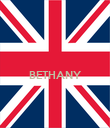 BETHANY   - Personalised Poster large