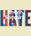 Bhavin Sompura     - Personalised Large Wall Decal