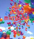 BOBO BIRTHDAY PARTY  ON - Personalised Poster large