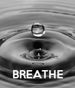 BREATHE - Personalised Poster large
