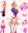 Britney Lithuania Fans  - Personalised Poster large