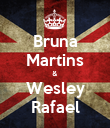 Bruna Martins & Wesley Rafael - Personalised Poster large