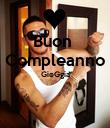 Buon  Compleanno GioGgia   - Personalised Poster large