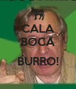 CALA BOCA  BURRO!  - Personalised Large Wall Decal