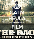 CALM HEULA NUNGGUAN FILM THE RAID - Personalised Poster large