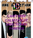 CAN'T KEEP CALM FAN OF MALIK,PAYNE,TOMLINSON,HORAN, AND STYLES DIRECTIONER FOREVER - Personalised Poster large