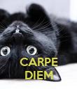 CARPE DIEM - Personalised Poster large