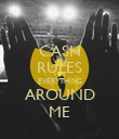 CASH RULES EVERYTHING AROUND ME - Personalised Poster large