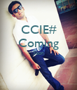CCIE# Coming Soon   - Personalised Poster large