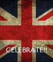 CELEBRATE!! - Personalised Poster large