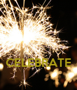 CELEBRATE  - Personalised Poster large