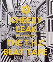 CHEEZY LEAK PRESENTS : THE T.H.C. BEAT TAPE  - Personalised Poster large