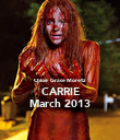 Chloë  Grace Moretz CARRIE March 2013 - Personalised Poster large