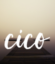 cico - Personalised Poster large