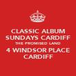 CLASSIC ALBUM SUNDAYS CARDIFF THE PROMISED LAND 4 WINDSOR PLACE CARDIFF - Personalised Poster large