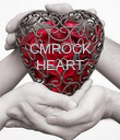 CMROCK HEART    - Personalised Poster large