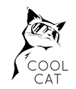 COOL CAT - Personalised Poster large