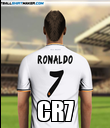 CR7 - Personalised Poster large