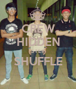 CREW HIDDEN STEP SHUFFLE  - Personalised Poster large
