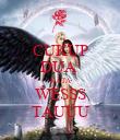 CUKUP DUA  KATA WESSS TAUUU - Personalised Poster large
