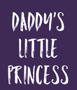 Daddy's Little Princess - Personalised Poster large