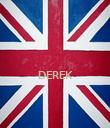 DEREK   - Personalised Poster small
