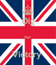 Dig  For   Victory  - Personalised Poster large