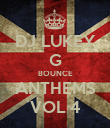 DJ LUKEY G BOUNCE ANTHEMS VOL 4 - Personalised Poster large