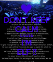 DON'T KEEP CALM CAUSE I'M ELF !! - Personalised Poster large