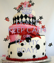 DON'T KEEP CALM COZ IT'S MY BDAY! - Personalised Poster large