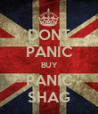 DONT PANIC BUY PANIC SHAG - Personalised Poster large
