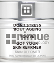 DON'T STRESS 'BOUT AGEING YOU'VE GOT YOUR SKIN REFIRMER - Personalised Poster large
