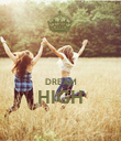 DREAM HIGH  - Personalised Poster large